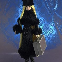 Getting ready for a new #magia2000  #manga #collection for our beloved friends at #barbie #convention in  #tokyo #galaxyexpress999  #art #doll #ooakdoll #ooak #repaint #couture #embroidery @barbiestyle @barbie #silkstone #love