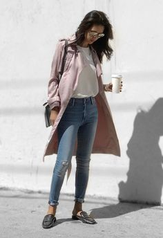 The best Mondays involve strong coffee and a power outfit to match. @jazy_g wears the BOMBSHELL SKINNY in Gulfstream, available online at @nordstrom.