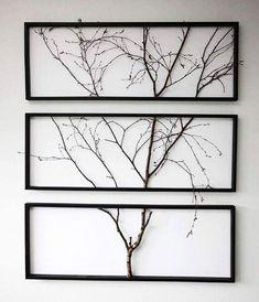 Natuurlijke kunst! 🌳 #boom #boomkunst #takken #muurdecoratie #wanddecoratie #schilderij #lijst #woon - woonideeennl