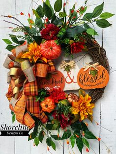 Your place to buy and sell all things handmade – Grapevine Wreath İdeas. Autumn Wreaths For Front Door, Fall Door, Holiday Wreaths, Door Wreaths, Grapevine Wreath, Burlap Wreath, Holiday Ideas, Burlap Pumpkins, Thanksgiving Wreaths