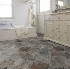 find a perfect stone floor that will fit your home and your budget. Romano 998 is the great in trend flooring that will work in all home! check out more in trend floors at ivcfloors.com