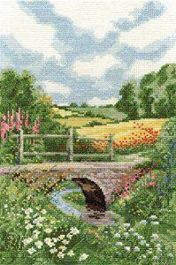 Summer meadow - cross stitch