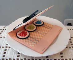 Match Book Paper Clip Holder