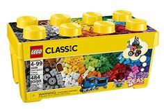 Lego Classic Medium Creative Brick Box 10696, 2015 Amazon Top Rated Activity #Toy