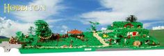 Huge LEGO Hobbiton Model Is Amazing!