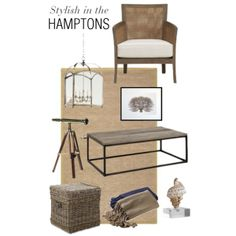 """Stylish In The Hamptons"" by Coastal Style Blog"