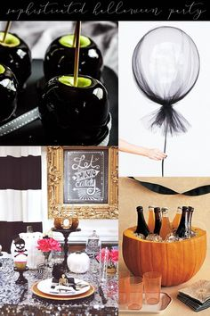 Sophisticated Halloween Party Inspiration