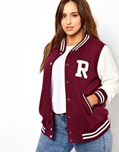 New Look Inspire Baseball Jacket