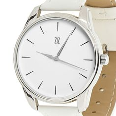 White Womens Watch Minimalist Casual Analog Quartz Watches Cool Gifts for Her…