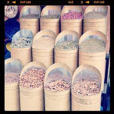 Bulk herbs and spices...Marrakech, Morocco