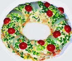 Рождественский салат с курицей