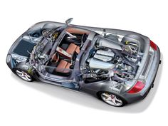 Porsche cutaways . | SMCars.Net - Car Blueprints Forum