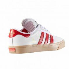 pretty nice 58556 9741a Zapatillas Adi Ease Univers Blanca rojo de Adidas Original Adidas  Originals, Adidas Original Shoes