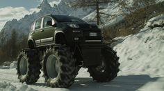 Fiat Panda 4x4, Italian for Monster Truck - Panoram Italia