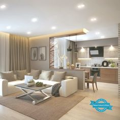 Living Room Decoration decor of small rooms Small Living Room Ideas Decor Decoration Living Room Rooms Small Living Room Decor Cozy, Home Living Room, Interior Design Living Room, Living Room Designs, Kitchen With Living Room, Cozy Living, Small Living, Living Room Partition, Sala Grande