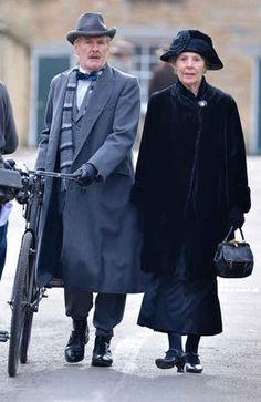 Downton Abbey - Isobel and Dr. Clarkson