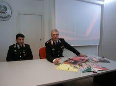 Pescara presentati calendario storico e agenda 2018  dei Carabinieri