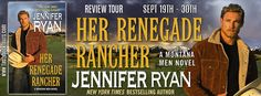 The Book Junkie's Reads . . .: Review Tour - Her Renegade Rancher (Montana Men, #5) by Jennifer Ryan