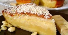 Recette de pâtisserie : le gâteau magique au chocolat blanc, un gâteau original qui se divise en 3 couches à la cuisson !