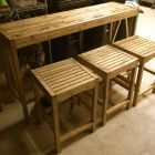 Ana White | Build a Sutton Custom Outdoor Bar Stools | Free and Easy DIY Project and Furniture Plans