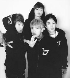 Block B // Zico, B-Bomb, Ukwon + Kyung