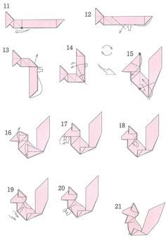 Origami isn't only for artists though. When you think about origami, you automatically think of some intricate paper structure that's challenging to f. Origami Lamp, Origami Dog, Instruções Origami, Origami Artist, Origami Dragon, Origami Fish, Origami Bookmark, Origami Folding, Paper Crafts Origami