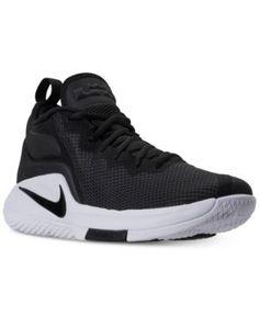 e10e75804f8 Nike Men s LeBron Witness Ii Basketball Sneakers from Finish Line - Black  11.5 Xavier Basketball