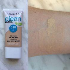 Covergirl Clean Matte BB Cream in 510 Fair swatch