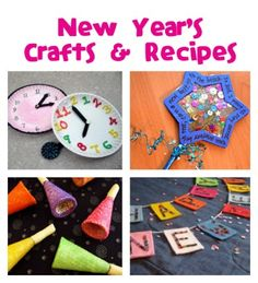 New Year's Crafts & Recipes - Fun Family Crafts