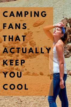 It's hot. It's SO hot! You need, like, a camping fan to cool down. That would be awesome. #camping#outdoors#outdoorgear#fans#summer Camping Outdoors, Outdoor Camping, Outdoor Fans, Portable Fan, Cool Tents, Camping Lanterns, Camping Essentials, Stay Cool, Camping