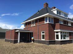 Jaren 30 tweekapper Buitenhuis Villabouw