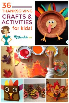 36 Fun Thanksgiving Activities and Kids Crafts!