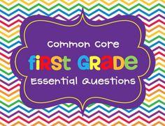 Erica Bohrer's First Grade: Essential Questions
