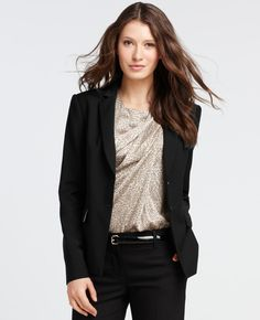 I'm determined to make the pant-suit sexy. If I'm stuck wearing em, I'm stuck fighting for em.