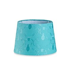 $19.99  Mix & Match Small 10-Inch Embroidered Hardback Drum Lamp Shade in Teal