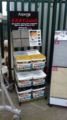 TP Newmarket with their new #EASYJoint Stand