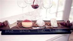 LEAF | DIY Chalkboard Cheese Platter