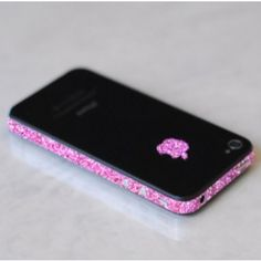 SPARKLING ROSE IPHONE WRAP. - TECH - ACCESSORIES