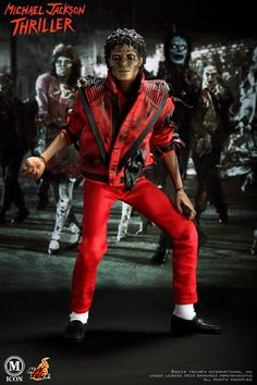 Michael Jackson dioramas   MICHAEL JACKSON - THRILLER (Hot Toys)