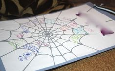 A cute friendshipping activity that involves spider webs, Charlotte's web and friendship.
