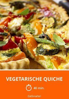 Vegetarische Quiche - smarter - Zeit: 40 Min.   eatsmarter.de