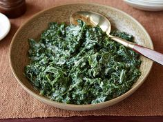 Get this all-star, easy-to-follow Creamed Kale recipe from Bobby Flay