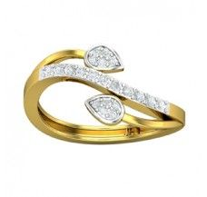 Diamond Ring 0.24 CT / 2.80 gm Gold