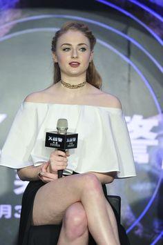 Sophie Turner - X-Men: Apocalypse' Beijing Press Conference - Album on Imgur