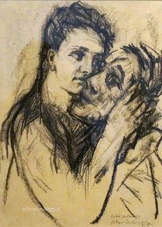 Alma Mahler and Oskar Kokoschka, 1913, Vienna, Leopoldmuseum _______________________________ Alma Mahler und Oskar Kokoschka