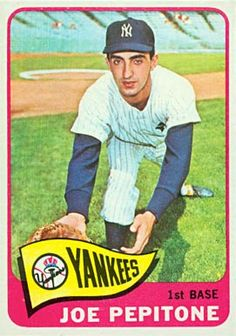 Say it ain't so? Brooklyn born - Joe Pepitone 1965 Topps
