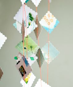 Make your own paper garland with this pretty paper pack.
