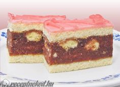 A legjobb Békebeli puncs szelet recept fotóval egyenesen a Receptneked.hu gyűjteményéből. Küldte: Gasztropajti No Bake Desserts, Dessert Recipes, Rum Cake, Cake Bars, Hungarian Recipes, Cake Cookies, Food For Thought, Cheesecake, Food Porn