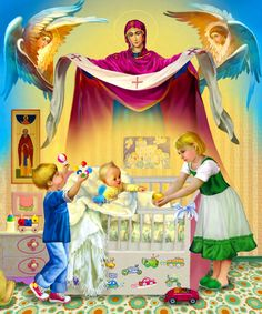 Natalya Klimova – Page 4 – Art in Faith Russian Painting, Russian Art, Catholic Art, Religious Art, Blessed Mother Mary, Orthodox Christianity, Mary And Jesus, Orthodox Icons, Sacred Art