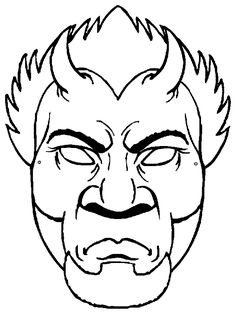 Masks - 999 Coloring Pages